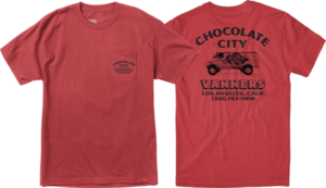 Chocolate VANNER POCKET SS RED