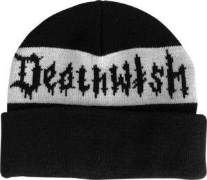 DEATH WISH ROLL THE DICE BEANIE BLK