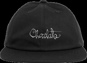 Chocolate OG SCRIPT HAT ADJ-BLACK