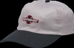Independent O.G.B.C. PATCH HAT ADJ-HEATHER GREY/BLACK