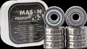 BRONSON G3 MASON SILVA BEARINGS SINGLE SET