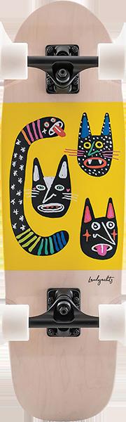LANDYACHTZ DINGHY BLUNT WILD CATS COMPLETE-8.6x28.5