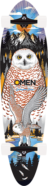 OMEN ENDANGERED SNOWY OWL PIN COMPLETE-9.1x38