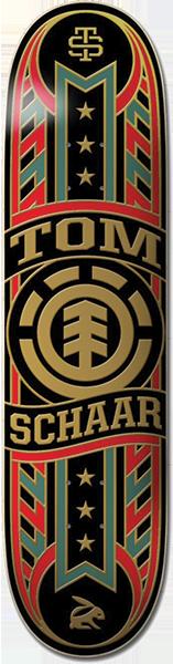 Element SCHAAR BANNER YEAR DECK-8.0