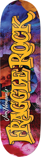 MADRID X FRAGGLE ROCK LOGO DECK-8.25