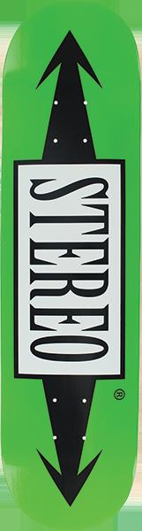 STEREO ARROW DECK-7.75 GREEN