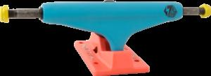 INDUSTRIAL IV SURF BLU/RED NEON W/BLK ppp x2