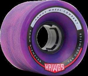 HAWGS CHUBBY HAWG 60mm 78a PURPLE/PINK x4