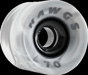 HAWGS SUPREMES 70mm 78a GREY/WHT x4