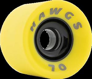 HAWGS SUPREMES 70mm 78a FLAT BANANA x4