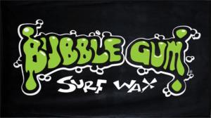 BUBBLE GUM BEACH TOWEL BLACK/GREEN