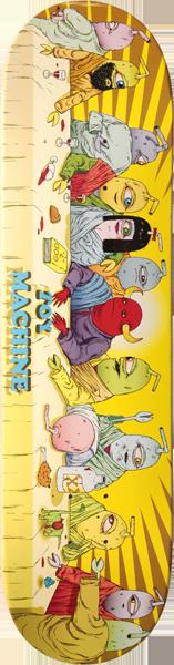Toy Machine LAST SUPPER DECK-8.38