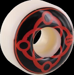 SATORI BIG LINK 55mm 101a WHT/BLK/RED x4