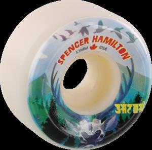 SATORI HAMILTON CANADA 53mm 101a WHITE x4
