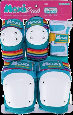 187 6-PACK PAD SET XL.THICK-MOXI JADE